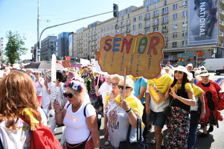parada seniorów